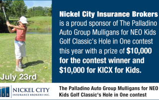 Nickel City Insurance Brokers Sudbury Neo Kids Golf